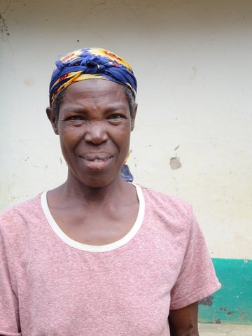 Mama Anna - helper at Mier Pamoja Care Centre
