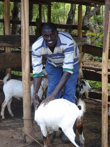 Wilson, helper at Mier Pamoja Care Centre
