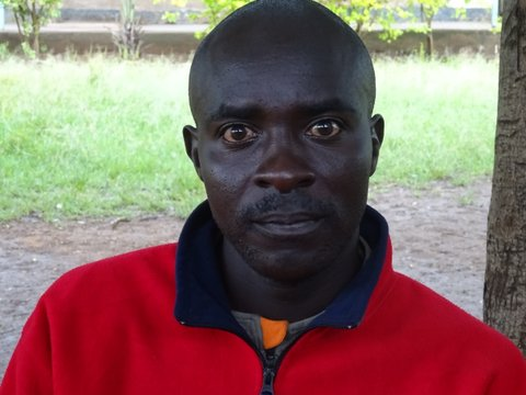 Richard Otieno Oweko (Day Watchman & Groundsman at Mier Pamoja Educational Centre)