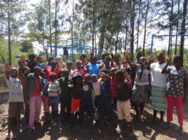 Our happy friends at Mier Pamoja Care Centre