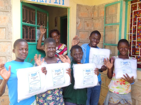Blythswood Trust Donates Mosquito Nets